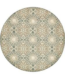 Tabert Tab3 Multi 8' x 8' Round Area Rug