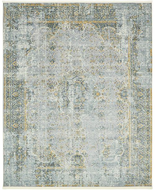 "Bridgeport Home Kenna Ken1 Gray 8' 4"" x 10' Area Rug"