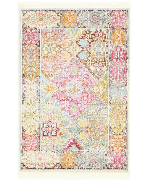 "Bridgeport Home Kenna Ken1 Multi 2' 2"" x 3' Area Rug"