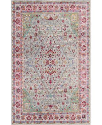 Malin Mal2 Gray 5' x 8' Area Rug