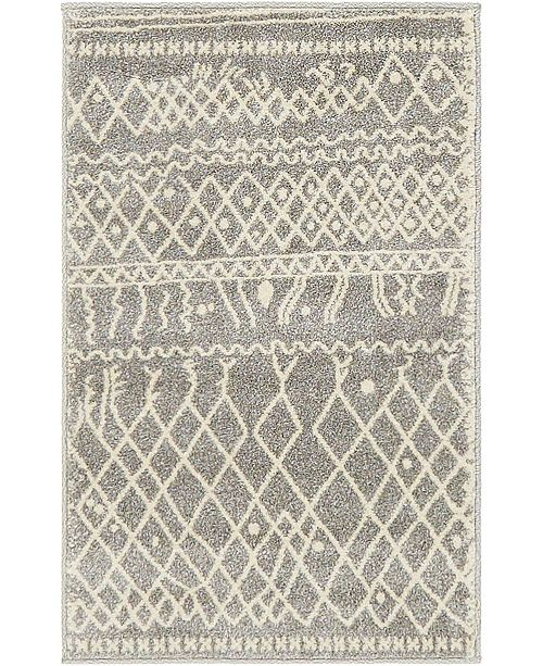 Bridgeport Home Fio Fio2 Gray 2' x 3' Area Rug