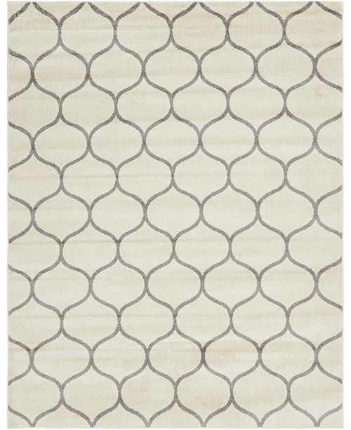 Bridgeport Home Plexity Plx2 Ivory 8' x 10' Area Rug