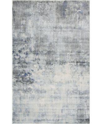 Haven Hav1 Gray 5' x 8' Area Rug