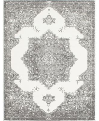 Mishti Mis6 Gray 8' x 10' Area Rug
