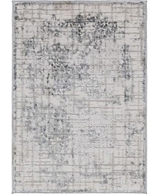 "Bridgeport Home Aitana Ait2 Gray 2' 2"" x 3' Area Rug"