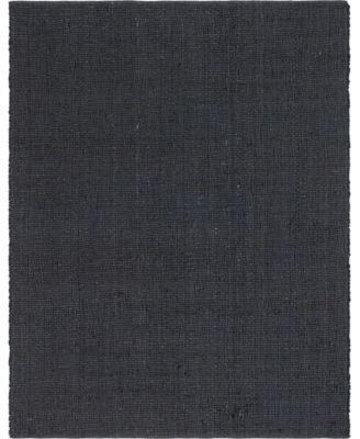 Prisma Jute Prs1 Dark Gray 8' x 10' Area Rug