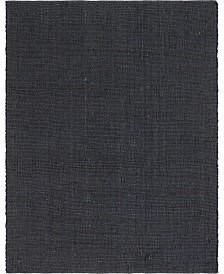 Bridgeport Home Prisma Jute Prs1 Dark Gray 8' x 10' Area Rug