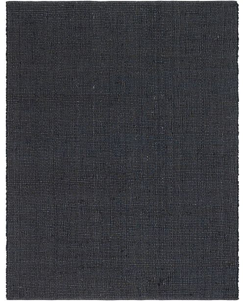 Bridgeport Home Prisma Jute Prs1 Dark Gray 8' x 10' Area Rug