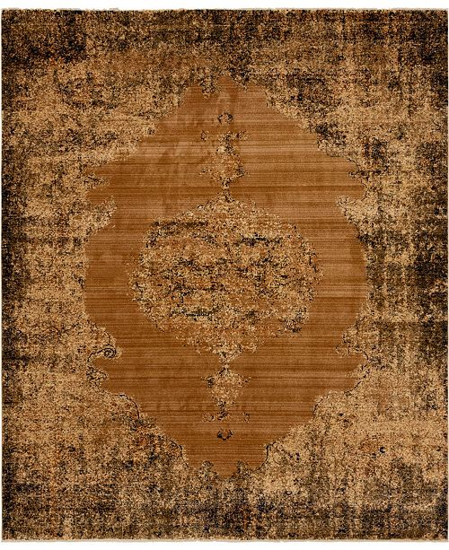 Bridgeport Home Thule Thu2 Light Brown 8' x 10' Area Rug