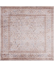 Anika Ani2 Light Brown 8' x 8' Square Area Rug