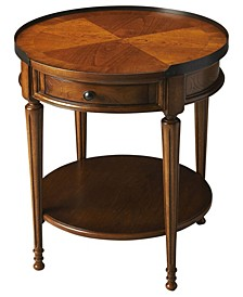 Butler Sampson Burl Accent Table