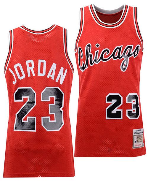 online store e3b6b dd1b8 Men's Michael Jordan Chicago Bulls Authentic Jersey