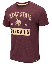 Colosseum Men's Texas State Bobcats Team Patch T-Shirt