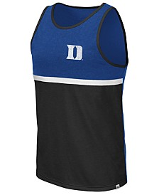 Colosseum Men's Duke Blue Devils Color Blocked Tank