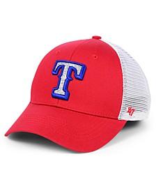 Women's Texas Rangers Branson Glitta Trucker Strapback Cap