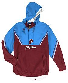 Mitchell & Ness Men's Philadelphia Phillies Anorak Half-Zip Pullover