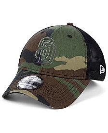 New Era San Diego Padres Camo Trucker 39THIRTY Cap
