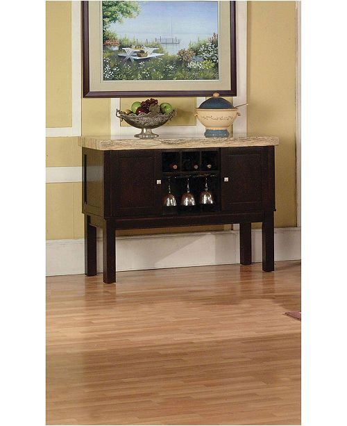 Acme Furniture Fraser Sideboard Buffet Server and Accent Cabinet