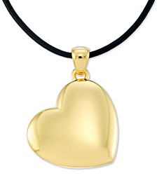 "Diamond Accent Heart 18"" Pendant Necklace, Created for Macy's"