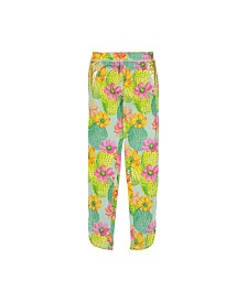 Masala Baby Little and Big Girls Leggings Cactus Floral