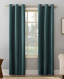 "Cooper 40"" x 95"" Thermal Insulated Grommet Top Curtain Panel"