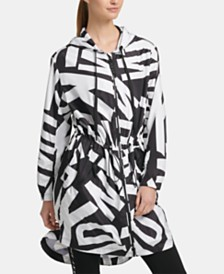DKNY Sport Logo-Print Jacket, Created for Macy's