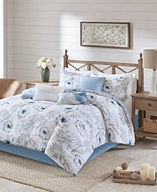 Madison Park Milo 7-Pc. Cotton Printed Comforter Sets