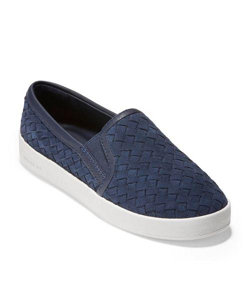 Cole Haan Grandpro Spectator Slip On Sneakers