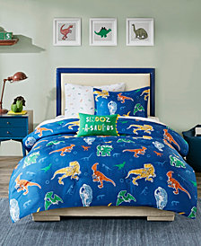 Mi Zone Kids Logan Twin 6 Piece Complete Bed and Sheet Set