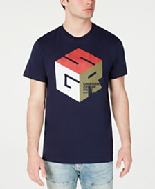 G-Star RAW Men's Cube Logo T-Shirt, Created for Macy's