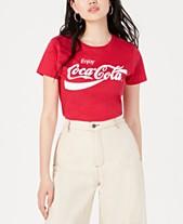 80036689f Love Tribe Juniors' Coca-Cola Graphic T-Shirt