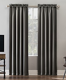 "Sun Zero Oslo 52"" x 95"" Theater Grade 100% Blackout Rod Pocket Curtain Panel"