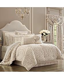 J Queen Milano Sand Queen Comforter Set