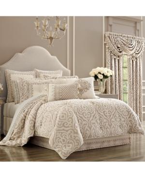 J Queen Milano Sand Queen Comforter Set Bedding