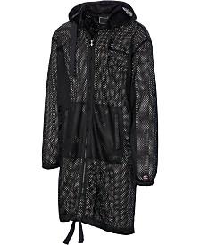 Champion Men's C-Life Mesh Hooded Trench Coat