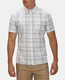 Men's Frankie Plaid Stretch Button-Down Shirt