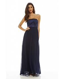 AX Paris Crochet Bandeau Maxi Dress