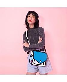 JumpFromPaper Fun and Playful 2D Shoulder Bag