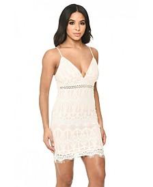 AX Paris Lace Fitted Mini Dress