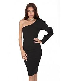 AX Paris Ruffle Sleeve Dress