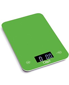 Ozeri Touch Professional Digital Kitchen Scale 12 lbs Edition, in Tempered Glass