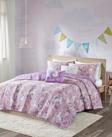 Lola 4-Pc. Twin/Twin XL Coverlet Set