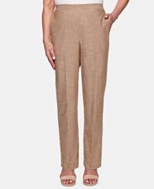Alfred Dunner Santa Fe Straight-Leg Pants