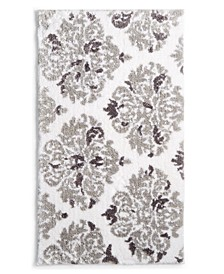 "Victorian Damask Cotton 20"" x 30"" Rug, Created for Macy's"
