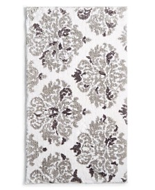 "Martha Stewart Collection Victorian Damask Cotton 20"" x 30"" Rug, Created for Macy's"