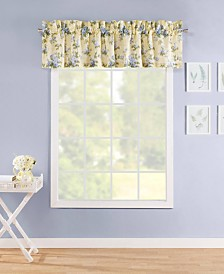 Laura Ashley Cassidy Pastel Yellow Window Valance