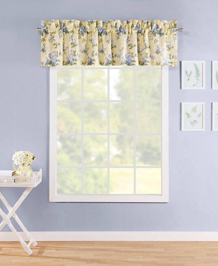 Laura Ashley - Cassidy Pastel Yellow Window Valance