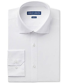 Vince Camuto Men's Slim-Fit Stretch Solid Dress Shirt