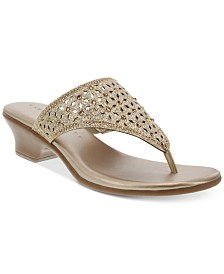 Karen Scott Elda Sandals, Created for Macy's