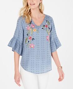 Flutter Sleeve Tops: Shop Flutter Sleeve Tops - Macy's